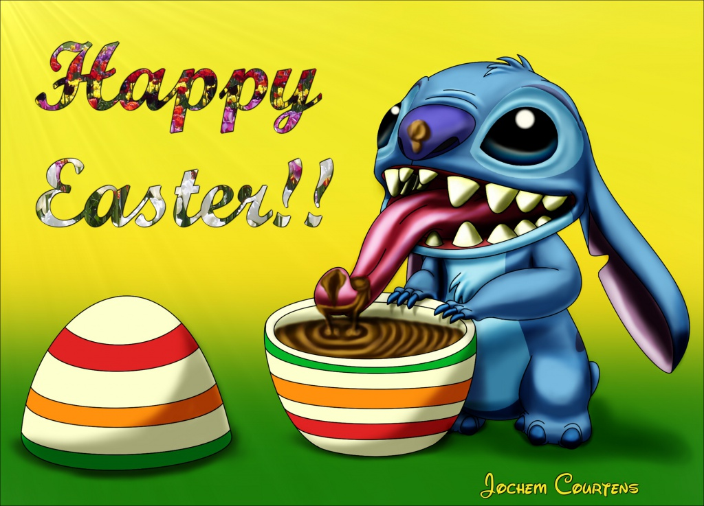 Happy Easter Stitch.