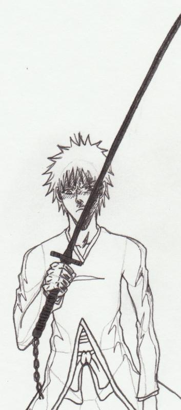 Ichigo in bankai