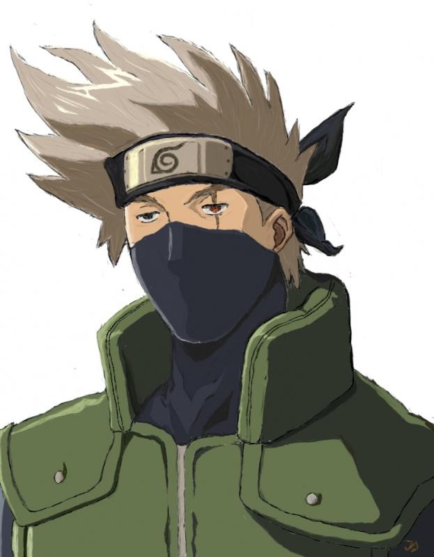 Kakashi Portrait 171 Naruto Fanart