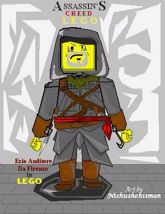 EZIO in LEGO