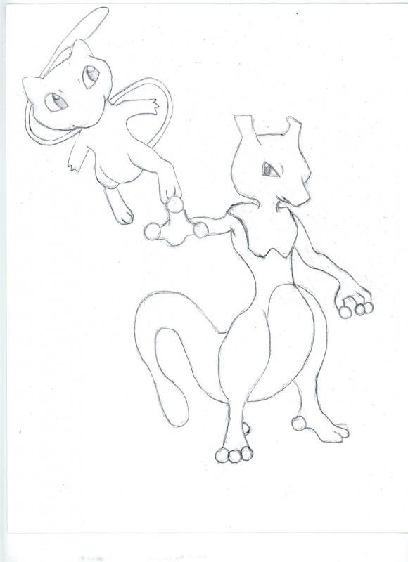 Mewtwo & Mew