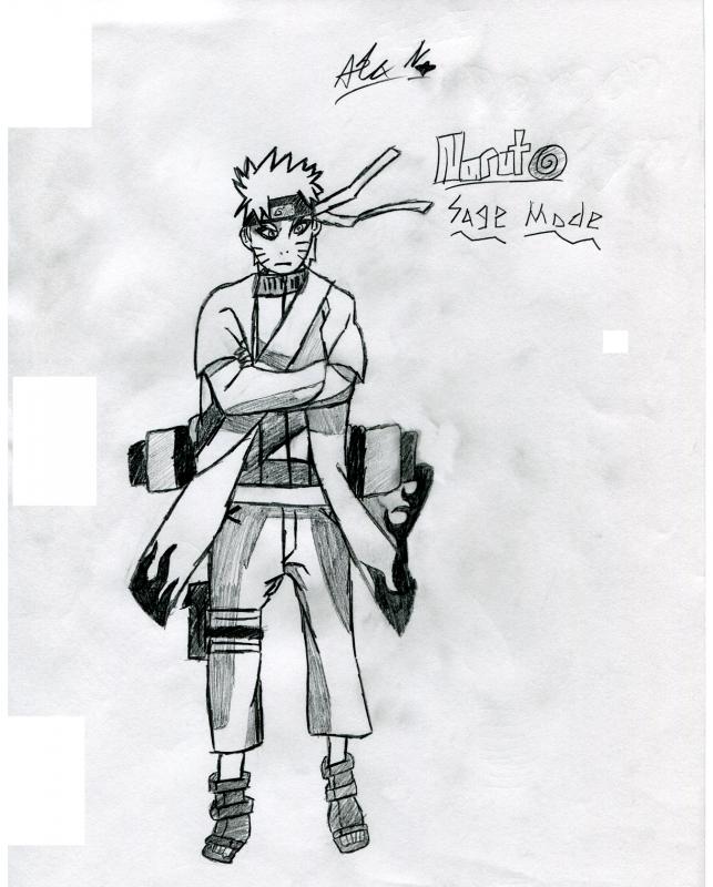 naruto sage mode kyuubi. Naruto (Sage-Mode)