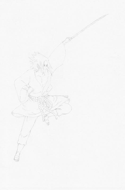 Sasuke charging