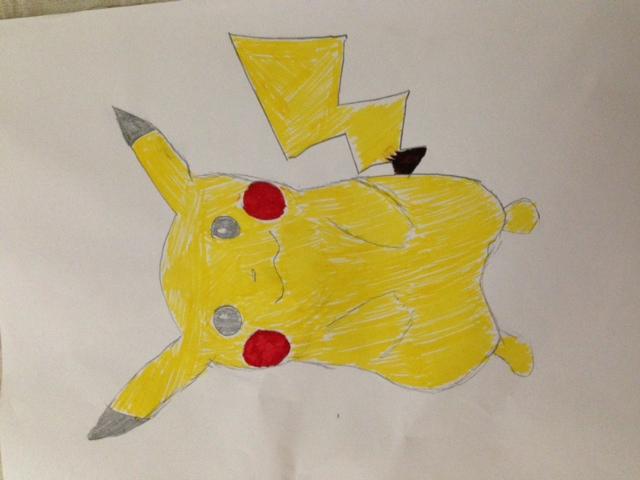 Pikachu I think.