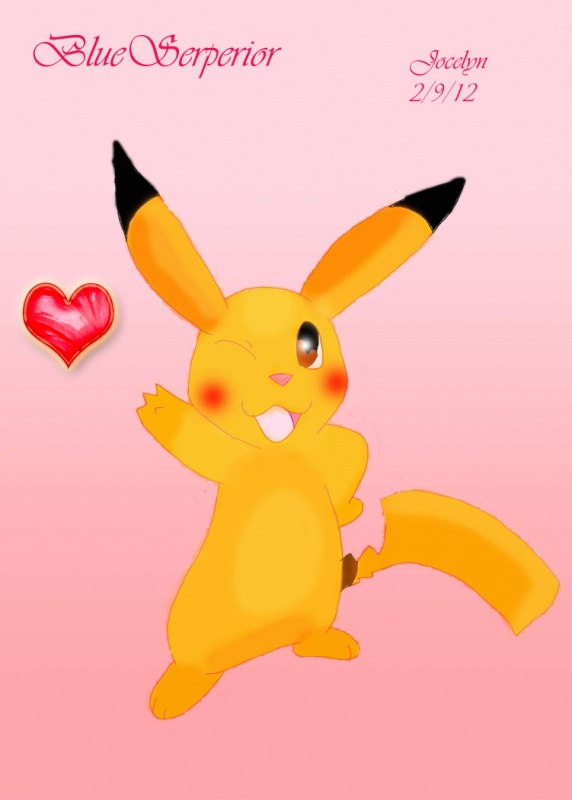 Pika used Attract