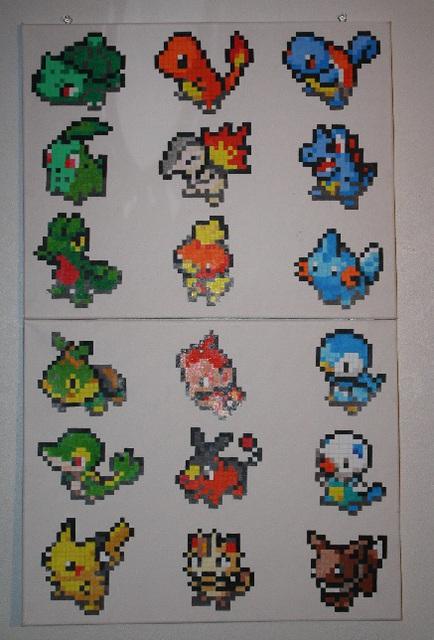 Pokémon Pixel Art