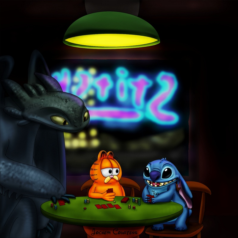 """Pokernight"" by Stitch"