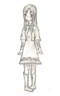 HM Rune Factory Inspired Girl
