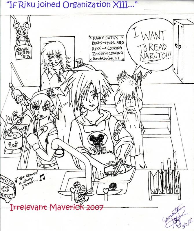 Riku's in the Kitchen