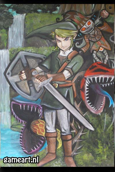 Zelda Twilight Princess Link