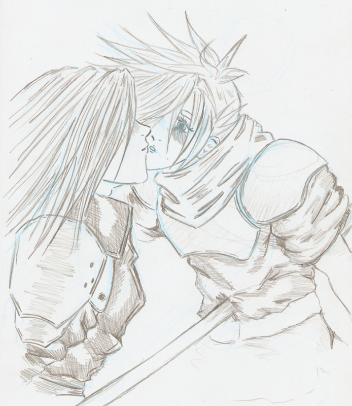 Sephiroth and Cloud... Whoops