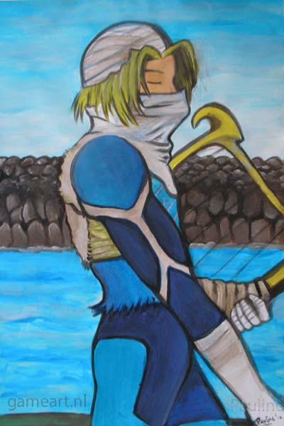 Sheik Lake Hylia (ocarina of time)