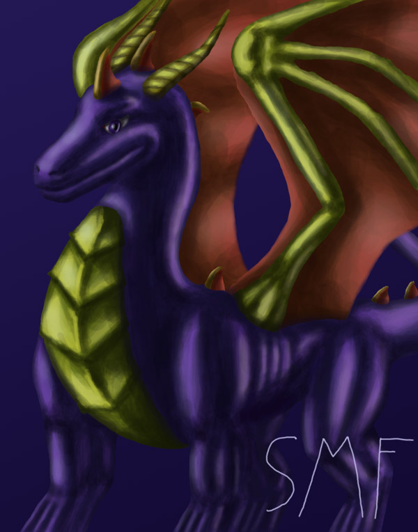 Spyro Speed Paint