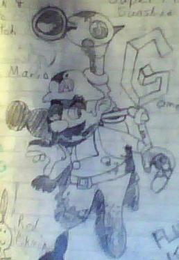 Mario and F.L.U.D.D.