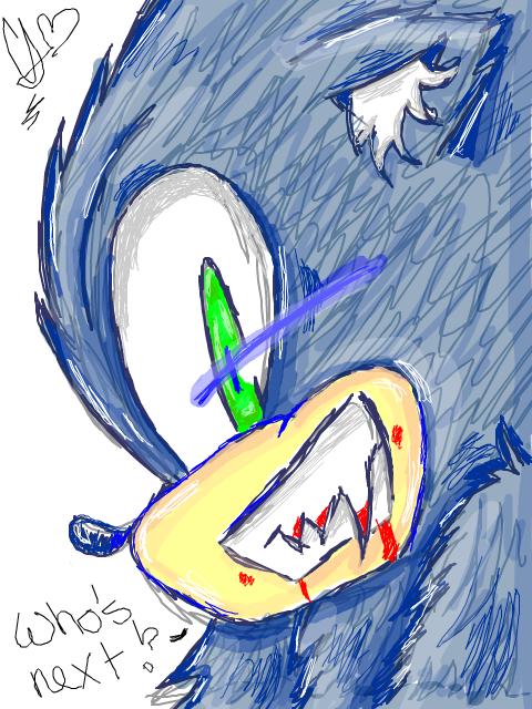 Tegaki - Sonic