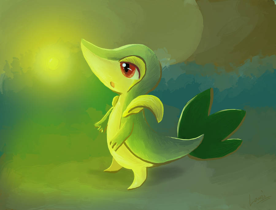 """Snivy - Firefly"" by Lauzi"