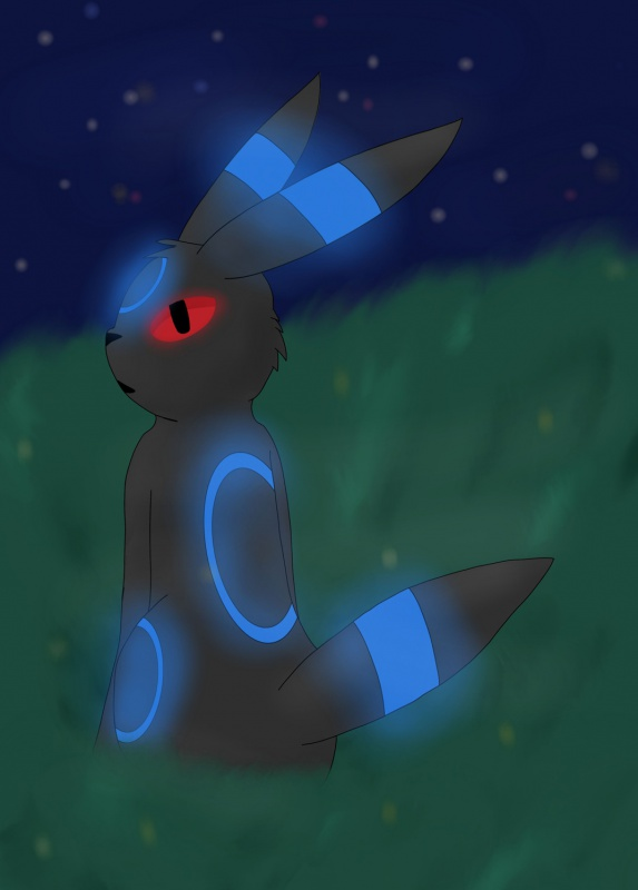 """Shiny Umbreon"" by spyro1432"