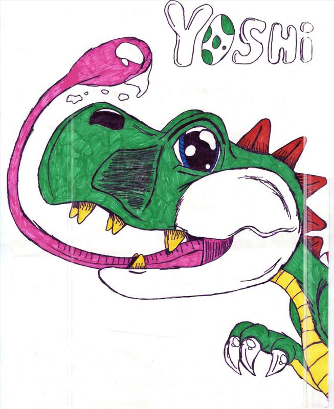 The missing link; Yoshisaur