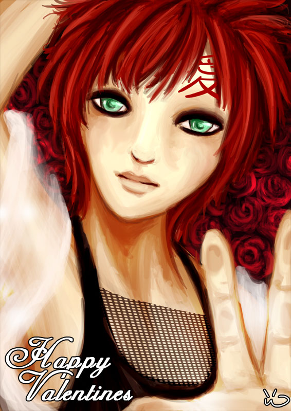 """Valentines Gaara 09"" by Amy"