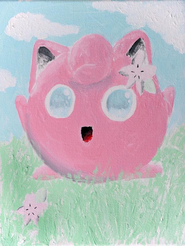 Jigglypuff Painting
