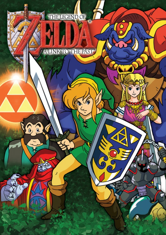 Zelda: A Link To The Past [StarWars-style Collage]