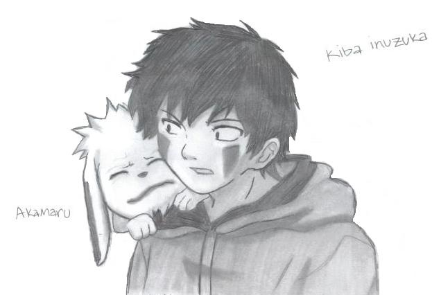 Kiba Inuzuka & Akamaru