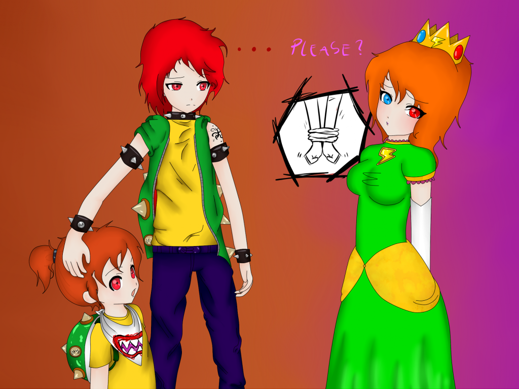Bowser Could I Be Your Princess?