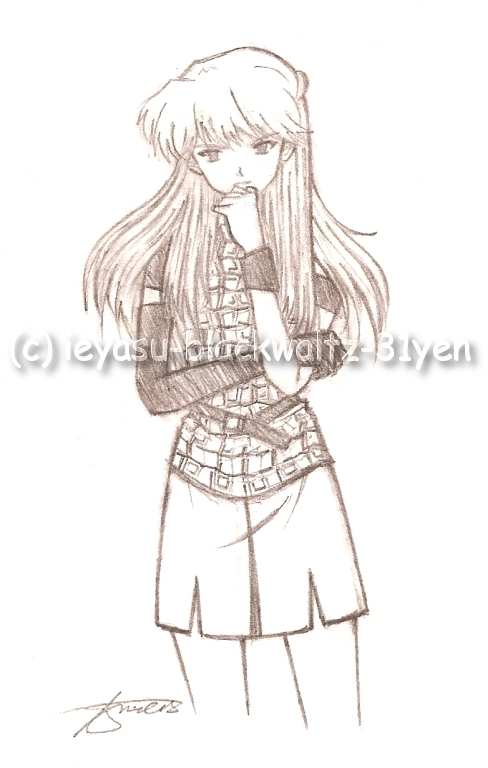 """Asuka Langley"" by ieyasu"