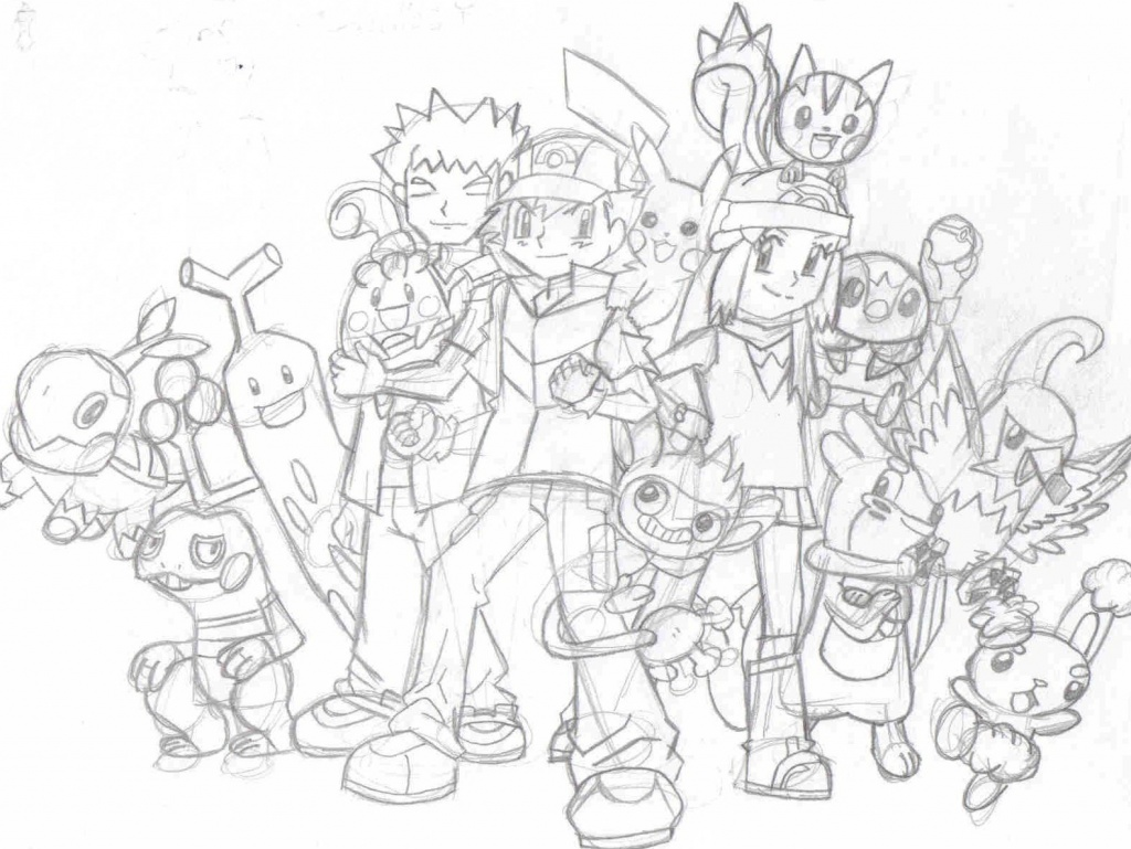 """""""Ash & Friends"""" by Blair32"""