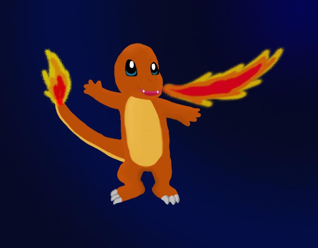charmanders flamethrower