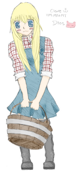 Claire colored version