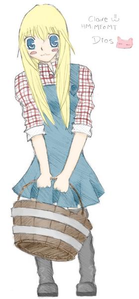 Claire colored version