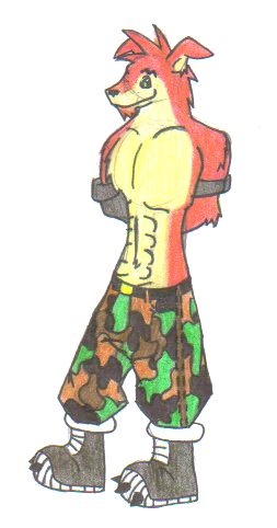 Crunch Bandicoot
