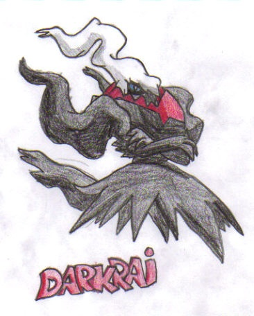 Darkrai Sketch