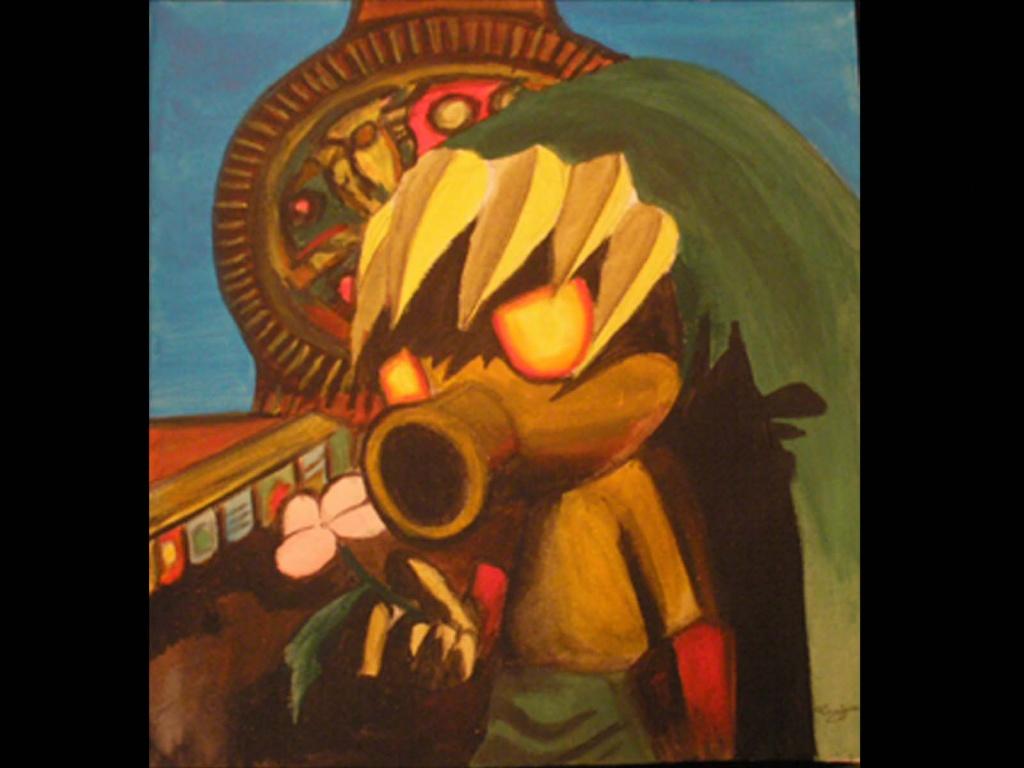 """""""Link Majora´s Mask"""" by Artist"""
