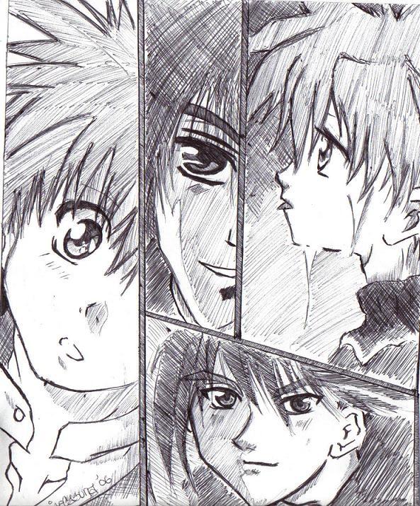 Daisuke and Dark