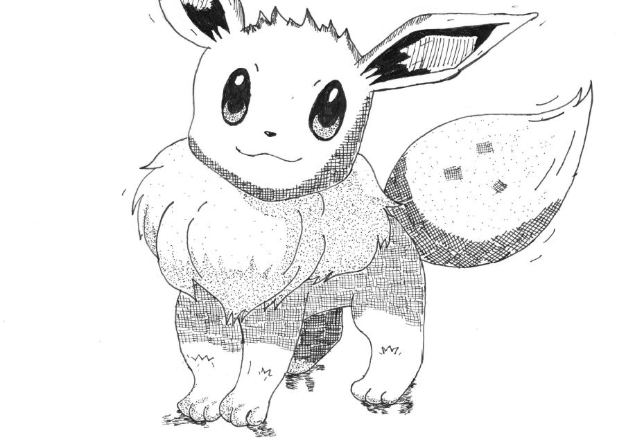 Eevee Illustration