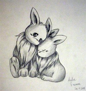 """""""Eevees Huggle"""" by nayru20"""