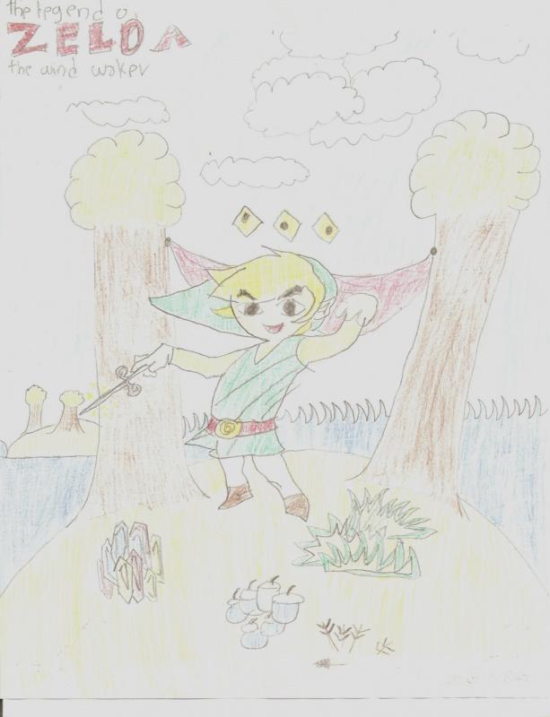 """Link In A Island."" by Arietta"