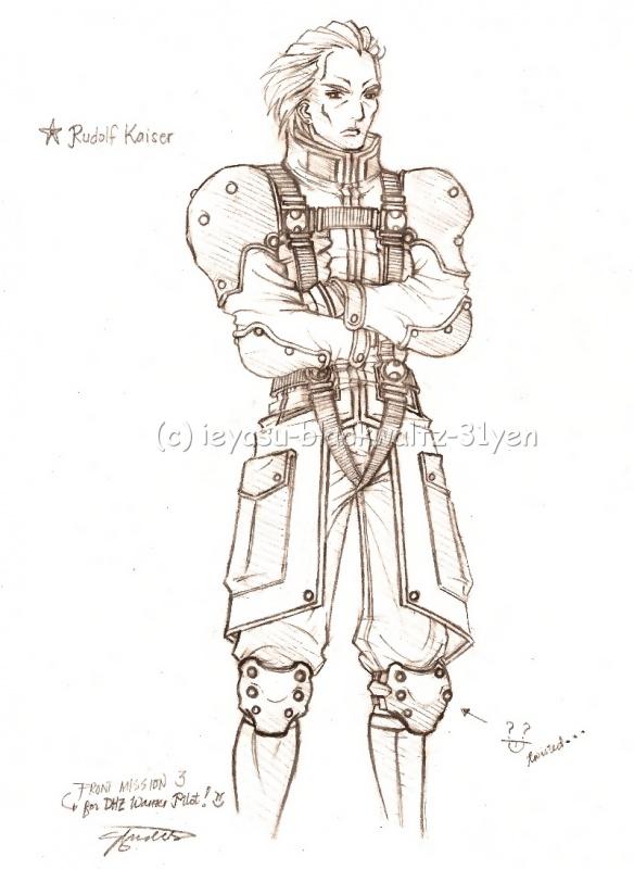 Rudolf Kaiser of the Wulong Mercenaries