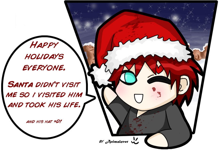 """Gaara Christmas Special"" by Amy"