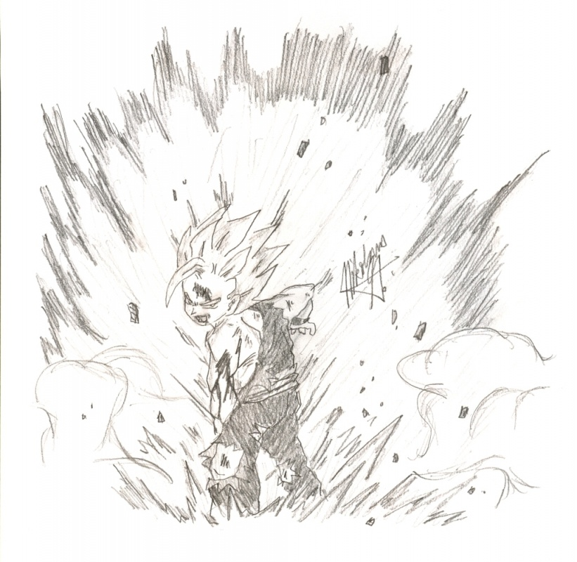 Gohan Kamehameha