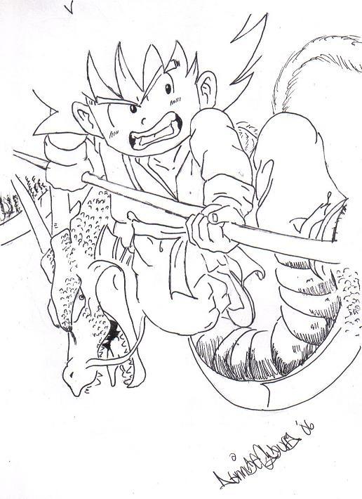 Dragon Ball Goku. Little Goku « Dragon Ball