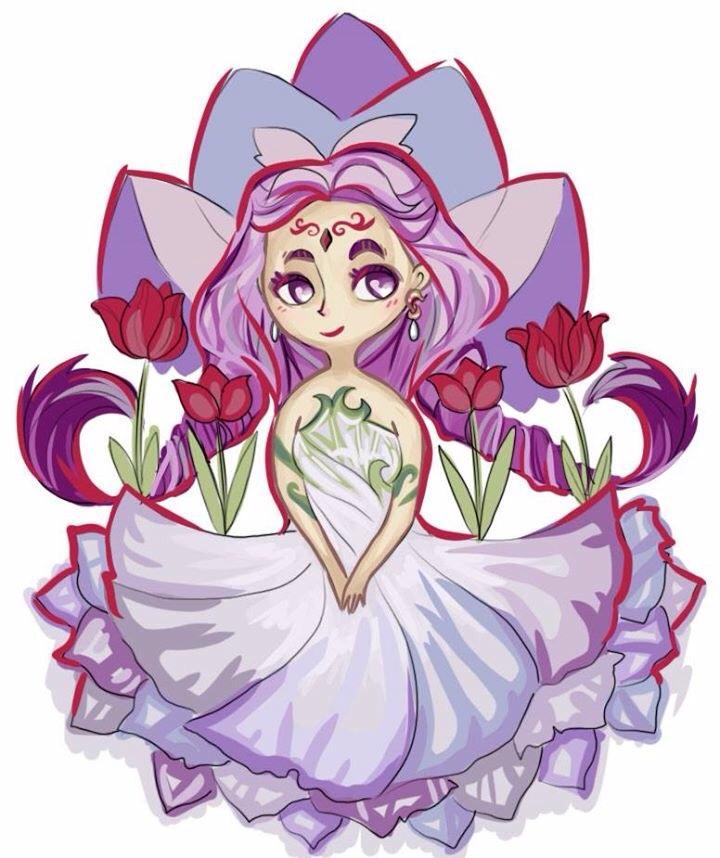 WIP Harvest Moon Goddess
