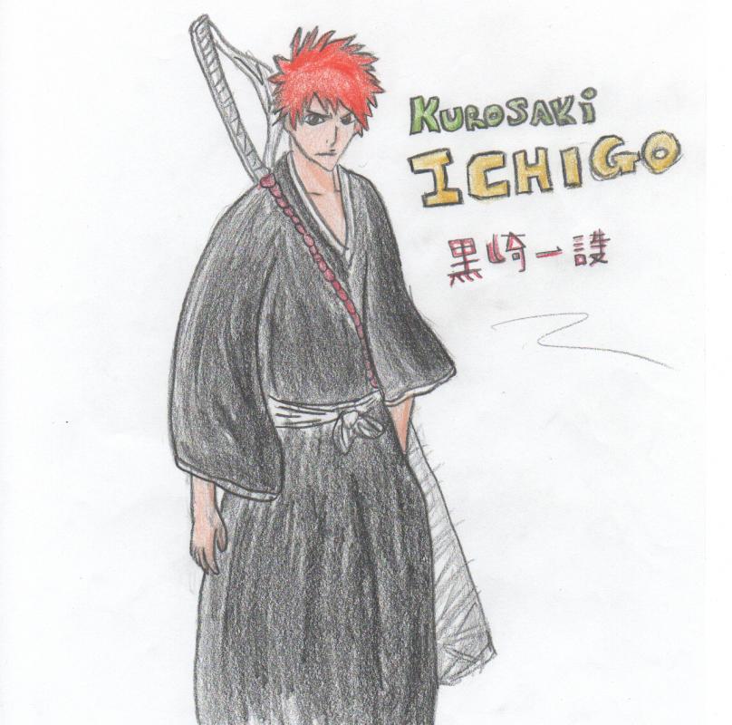 Kurosaki Ichigo Sketch
