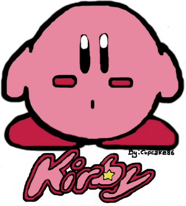 Plain Kirby (Coloured)