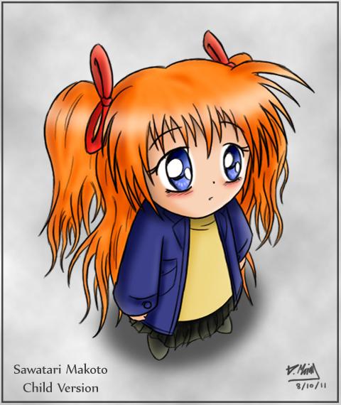 """Makoto: Child Version"" by Enth"