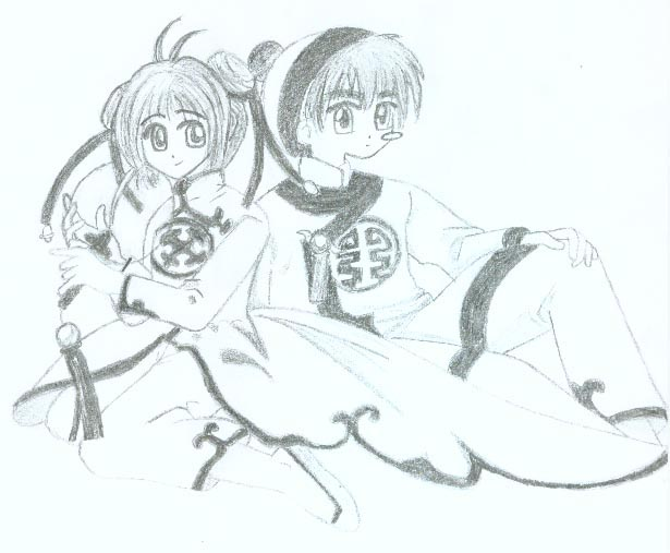 Sakura & Syaoran (Manga)