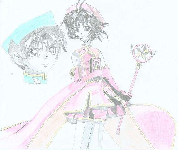 Sakura & Syaoran (Anime)