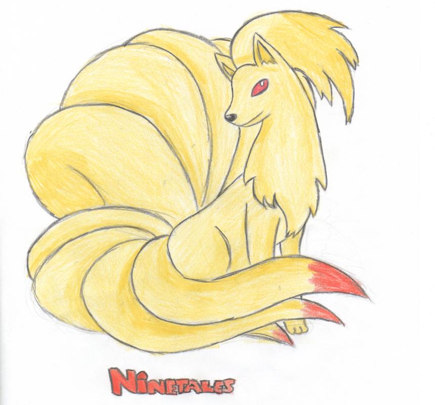 Ninetales Sketch